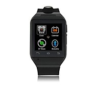 zgpax® s19 bluetooth 3.0 smart phone orologio da polso (chiamata / sms / sincronizzare musica da Android / ios telefoni)