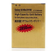 2850mAh (EU Version) Replacement Golden High Capacity Battery for Samsung Galaxy S4 Mini I9190 I9192 I9195