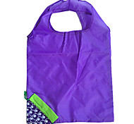 Eco-Friendly Blue Grape Design Folding Shopping Bag