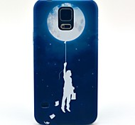 Explore Space Pattern Hard Case Cover for Samsung Galaxy S5 I9600