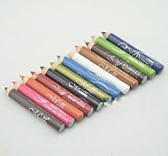 """12 pcs Color Eyebrow Pencil (2.95""""x0.35""""x0.35"""")"""