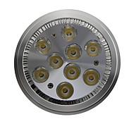 Dimmbar Spot Lampen AR GU10 9 W 900LM LM 2800-3200K K 9 High Power LED Warmes Weiß AC 220-240 V