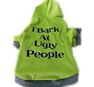 Camiseta - Verde - de Malha polar Cães