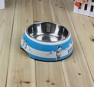 бобо меламин собака чаша 3056 товаров для домашних животных чаша для собак случайных цветов