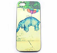 olifant patroon harde case voor iPhone 4 / 4s