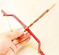 Bow And Arrow Design Plastic Ballpoint Pens(Random Color x1pcs)