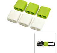YuanBoTong  Wire clip Cable Manager (6 pcs)