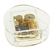 Crystal Music Box with Gilded Spring Toys(Random Pattern)