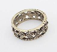 Кольца Унисекс Сплав металлов Сплав металлов Серебро