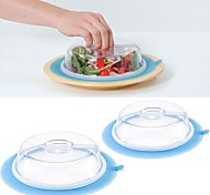 Plate Topper Silicone with Suction Cups Freshness Lids Random Color 20x20x8.5cm