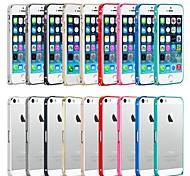 jiakashi ultradünnen Metallrahmen Bumper Schutzhülle für iPhone 5 / 5s