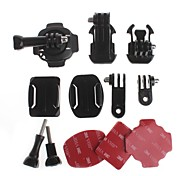 YuanBoTong   Adjustable Helmet Bracket Accessories Kits for GoPro Hero3+/3/2/1