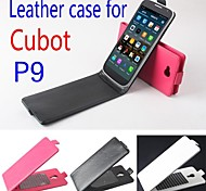 Protective Leather Flip Case Cover for Cubot P9 Smartphone Phone Cases 3-color