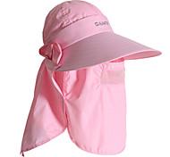 PGM Women's Nylon+Breathable Mesh Light Pink Sunproof Anti-UV Golf Sunhat