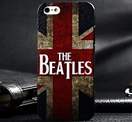 3D UK Flag Painting Relievo PC Hard Case for iPhone 5/5S
