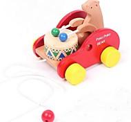 bobine di legno per bambini sopportano macchina di diligenza