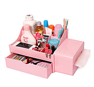 Big Plastic Cosmetic Box with Drawers(More Colors)