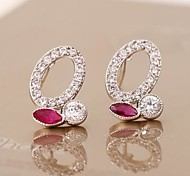Love Is Your Luxury Zircon Noble Earrings