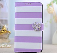 Fashion PU Leather Camellia Full Body Case with Stand for SAMSUNG GALAXY Note 3 N9000
