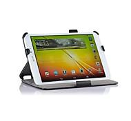 """retrasando duro del caso del soporte de cuero para lg g pad 8.3 """"tablet v500 calor"""