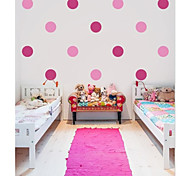 JiuBai™ Polka Dot Home decoration Wall Sticker Wall Decal, 18 Dots Per Set