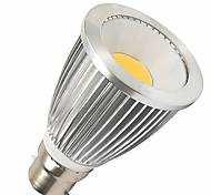 7W B22 Spot LED MR16 1 LED Haute Puissance 550-630 lm Blanc Chaud DC 12 V