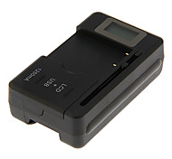 YBY-SS-5 LCD Universal Battery Charger for Camera  with USB Output