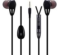 easeyes EX60 auriculares deportivos con gancho con control remoto y micrófono para el iphone y otros (1,2 m, color surtidos)