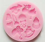 3D Bear Feet Baby Toy Silicone Chocolate Mold Fondant Sugar Craft Molds