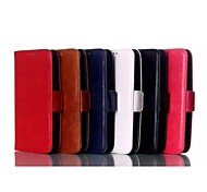 Solid Color PU Leather Case with Stand Holder for Moto E/XT1021/XT1022/XT1025(Assorted Colors)