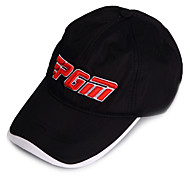 PGM Black+Red Sunproof Breathable Golf Hat