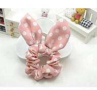 Rabbit Ears Bow Hair Accessories Hair Ring Vivi Random Delivery