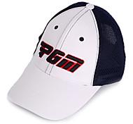 pgm malla negro + sunproof blanco sombrero del golf transpirable