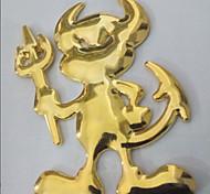 Little Yasha Pattern Personalized Metal Car Decorative Stickers