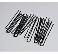 Hair Salon Black Iron Sand U-shaped Clamp