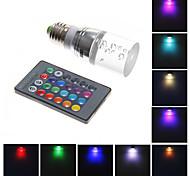 Bombillas LED de Mazorca Control Remoto MLSLED T 3W 1 130-160 LM RGB AC 100-240 V