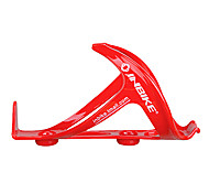 INBIKE PC Plastic Steel Red Wearproof Cycling Water Bottle Cage