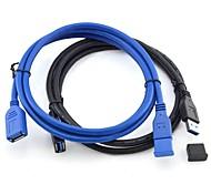 3м 9,84 супер скорость USB 3.0 от мужчины к женщине кабеля для передачи данных расширения и бесплатной доставкой