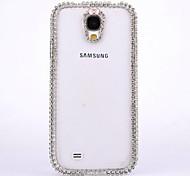 Luxus-Diamant-Abdeckung Fall zurück Bowknot für Samsung Galaxy S4 i9500