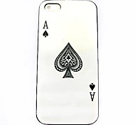 Poker Pattern Hard Case for iPhone 4/4S