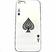 poker patroon harde case voor iPhone 4 / 4s