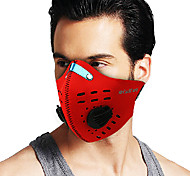 COOLCHANGE Red Dust-anti Warm-keeping Cycling Face Masks