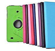 """7"""" 360 Degree Rotation Lichee Pattern Stand Case for LG-Gpad V400  Tablet (Assorted Colors)"""