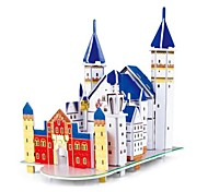 The Neuschwanstein Castle 3D Puzzles DIY Toys for Children and Adult Jigsaw Puzzle(31PCS)