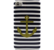 Anchor Pattern TPU Soft Case for iPhone 4/4S