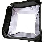 Godox S-Type Speedlite Bracket Bowens Mount+40*40cm Portable Softbox SFUV-4040 for Camera Flash