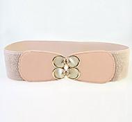 opal joker moda cinturón ancho de la mariposa de las mujeres