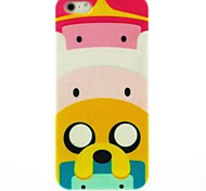Cartoon Pig Castles Pattern Hard Case for iPhone 5/5S