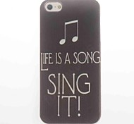 Sing It Design Soft Case for iPhone 5/5S