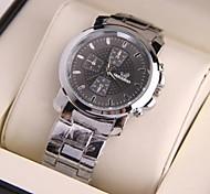 Men's Fashion Personality Steel Belt Gift Watch